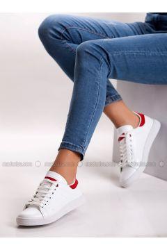 Red - White - Sport - Sports Shoes - MODA AYAKKABI(110315414)