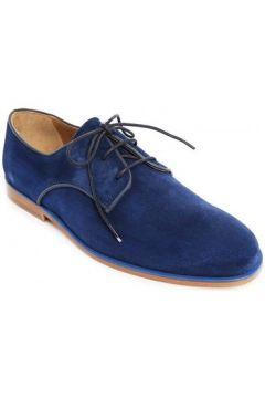 Chaussures Bobbies Lacets Le Reporter Bleu Nuit(98460097)