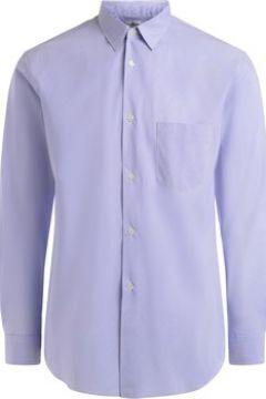 Chemise Comme Des Garcons Chemise à col cheminée bleu clair et blanche(101653491)