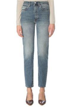 Toteme Kadın Normal Bel Boru Paça Jean Pantolon Mavi 26 US(126268285)