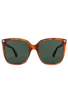 Солнцезащитные очки square - Gucci(125438629)