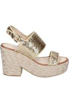 Espadrilles Sara Lopez sandales or glitter textile BS146(115443097)