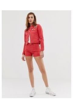 Pepe Jeans - Betties - Rote Jeansshorts - Rot(89510651)