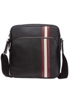 Men's leather cross-body messenger shoulder bag sorel(118299596)