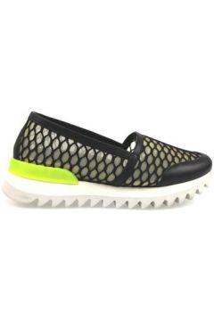 Chaussures Greymer slip-on noir cuir textile ap807(115443164)