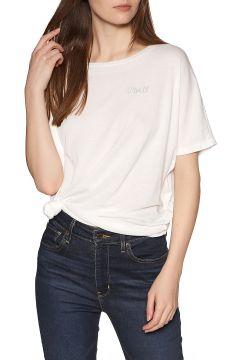 T-Shirt à Manche Courte Femme O\'Neill Essentials Drapey - Powder White(111325594)