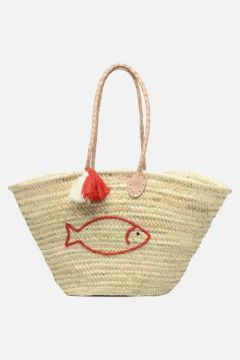 SALE -30 Etincelles - Panier artisanal Poisson Rouge - SALE Handtaschen / rot(111573961)