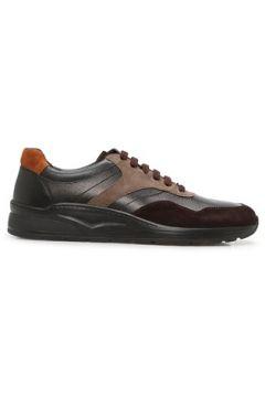 Moreschi Erkek Kahverengi Deri Sneaker 0 EU(127770406)