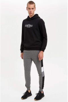 DeFacto Erkek Blok Desenli Jogger Eşofman Altı(125925836)