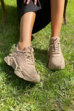 İnan Ayakkabı Nude Kadın Sneaker(118052399)