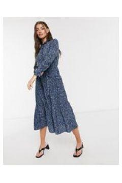 Whistles - Eucalyptus - Vestito camicia-Blu(122747686)