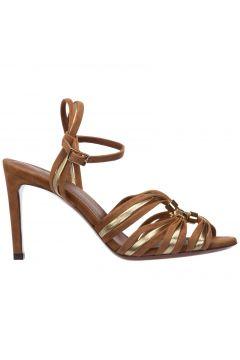 Women's suede heel sandals(118230388)