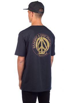 Volcom Conceiver Basic T-Shirt zwart(95391242)
