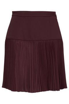 Emi Pleated Mini Skirt Kurzes Kleid Rot MARCIANO BY GUESS(114163923)