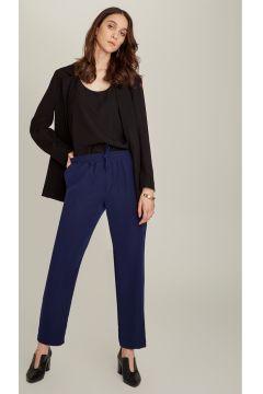Ng Style Beli Bağlamalı Lacivert Pantolon(113997458)