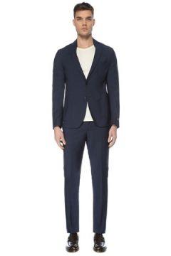 Pal Zileri Erkek Lacivert Yün Takım Elbise 54 IT(126433456)
