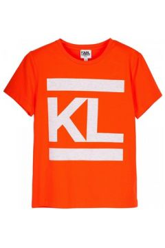 T-shirt enfant Karl Lagerfeld T-shirt orange(98529075)