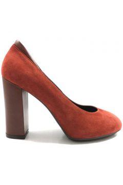 Chaussures escarpins Hogan escarpins rouge daim AZ126(115393340)
