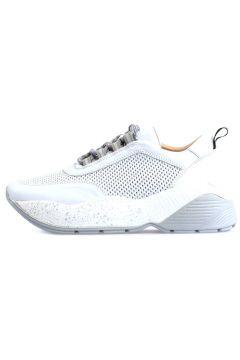 Flower Beyaz Yüksek Tabanlı Bağcıklı Spor Ayakkabı(118289950)