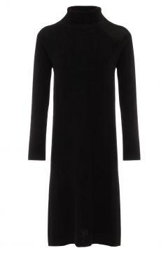 Langes Kleid Leinen Wolle(117377695)