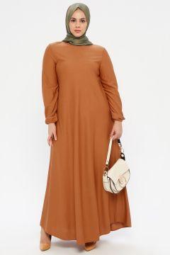Robe Grande Taille ECESUN Tabac(125448513)