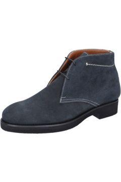 Boots Alexander bottines bleu daim BY454(115395358)