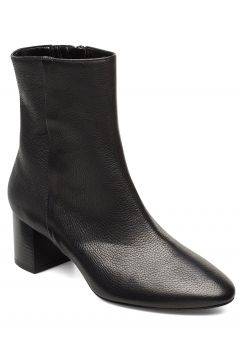 Plan Low Rounded Bootie Shoes Boots Ankle Boots Ankle Boots With Heel Schwarz APAIR(114160008)