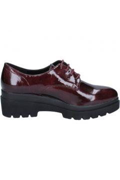 Chaussures Francescomilano élégantes bordeaux cuir verni BX333(115442529)