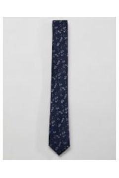 French Connection - Geblümte Krawatte in Marineblau - Navy(86690231)