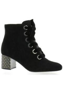 Bottes Adele Dezotti Boots cuir velours(127904733)