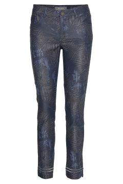 Sumner Cool Printed Pant Straight Jeans Hose Mit Geradem Bein Blau MOS MOSH(114152324)