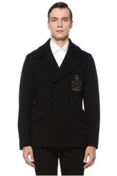 Dolce&Gabbana Erkek KABAN Siyah 46 IT(122382443)