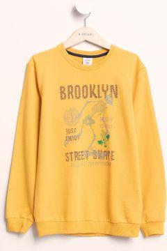DeFacto Erkek Çocuk Baskılı Sweatshirt(108987200)
