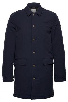 Eric Maccoat Trenchcoat Mantel Blau LES DEUX(119420554)