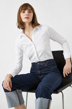 Koton Kadın Pamuklu Gömlek(127012368)