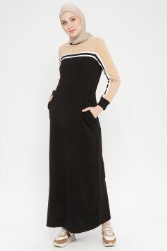 Robe MODAGÜL Marron / Noir(108581468)