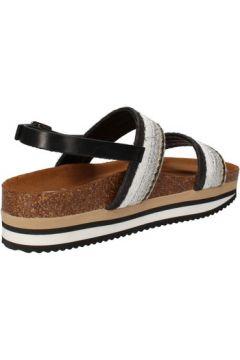Sandales 5 Pro Ject sandales beige textile noir AC590(115393617)