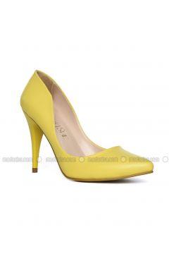 Yellow - High Heel - Heels - Angelshe(110340329)