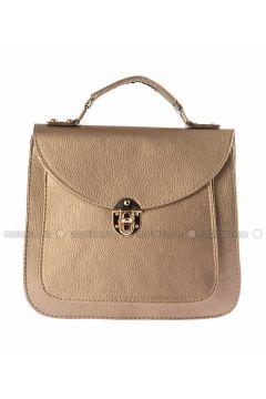 Gold - Shoulder Bags - WMİLANO(110321570)
