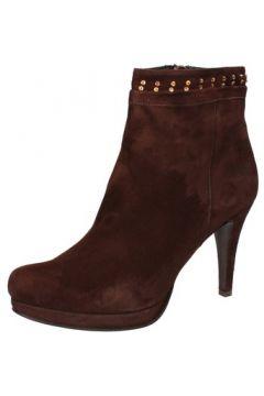 Boots Calpierre bottines marron daim AD569(115393741)