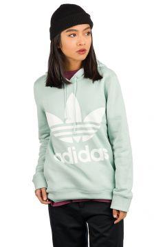 adidas Originals Trefoil Hoodie mint(97845277)