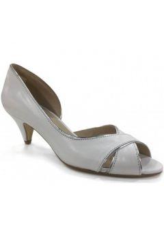 Chaussures escarpins O\'tess Escarpin bout ouvert Blanc(101571358)
