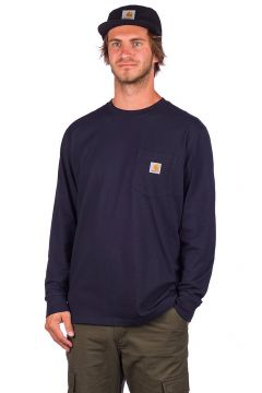 Carhartt WIP Pocket Long Sleeve T-Shirt blauw(120663705)