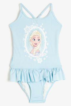 Koton Kız Çocuk Disney Lisansli Firfirli Frozen Mayo(120835160)