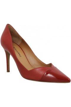 Chaussures escarpins Pura Lopez AP127 cuir Femme Rouge(127989718)