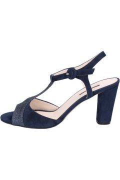 Sandales Daniele Ancarani sandales bleu daim AT205(115443276)