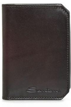 Santoni Erkek Kahverengi Deri Pasaportluk EU(125116190)