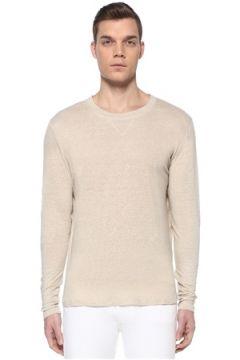 Isabel Marant Erkek Kewis Bej Keten Sweatshirt L EU(109148936)