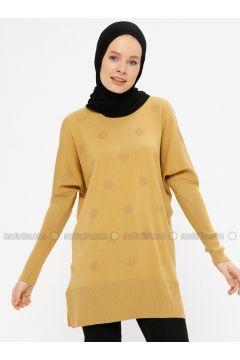 Camel - Crew neck - Acrylic -- Tunic - ERL(110329451)