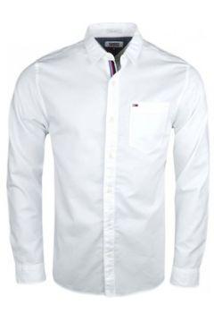 Chemise Tommy Jeans Chemise basique blanche régular pour homme(115400309)